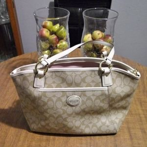 Price Drop Authentic Coach Peyton Tote